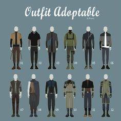 Open casual outfit adopts 42 male by rosariy pz: outfits in 2019 одеж Male Character, Fantasy Character Design, Character Outfits, Character Design Inspiration, Anime Outfits, Cool Outfits, Casual Outfits, Male Outfits, Drawing Anime Clothes