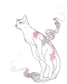 Kabegami from the Okami game. Love this one.