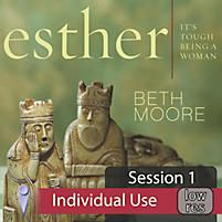 Esther: It's Tough Being a Woman - Video Sessions | Moore, Beth | LifeWay Christian Bible Study Accessory