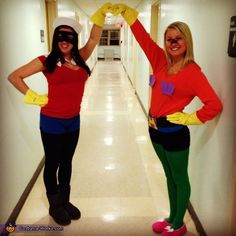 Mermaid Man and Barnacle Boy - 2013 Halloween Costume Contest via @costumeworks @Samantha Punturiero