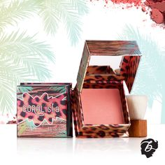 Sweep on #coralista for a #summer flush! #benefitcosmetics