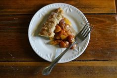 Prettibloom Blog: Peach and Cherry Tart