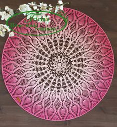 Dream Catcher Patterns, Lace Dream Catchers, Doily Patterns, Wall Patterns, Crochet Doilies, Crochet Lace, Mandela Patterns, Crochet Mandela, Crochet Wall Art