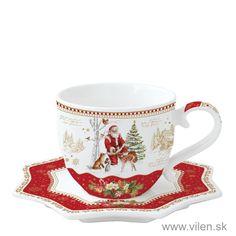 vilen porcelan salka 1233CHME 1 Tea Cups, Santa, Tableware, Dinnerware, Tablewares, Dishes, Place Settings, Cup Of Tea