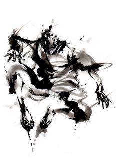 yu-ki nishimoto Kendo, Action Poses, Wing Chun, Asian Art, Japanese Art, Martial Arts, Samurai, Fantasy Art, Karate