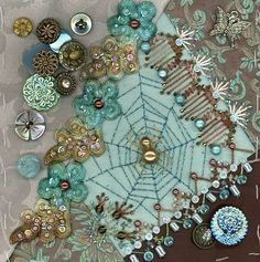 Beautiful Spider webs | spider web and beautiful stitching