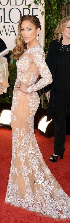 Jennifer Lopez - Golden Globes 2013 Red Carpet