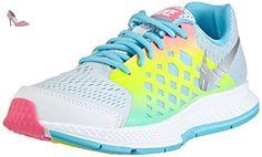Nike Air Zoom Pegasus 32, Chaussures de Course pour Compétition Femmes Bleu Blau (BL Lagoon/Blk-Snst GLW-PNK PW 408) Taille 38