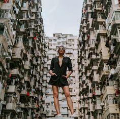 Shay Mitchell in Hong Kong