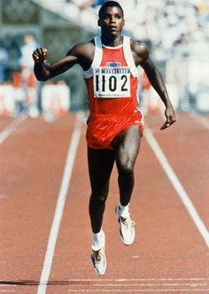 Carl Lewis....I dont hold his confusion against him....dont understand though???