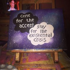 Danisnotonfire quote painting by PaintingsByPalitti on Etsy