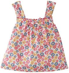 Kite Girl's Rainbow Daisy Sun Top Floral Sleeveless Blouse, Multicoloured, 7 Years