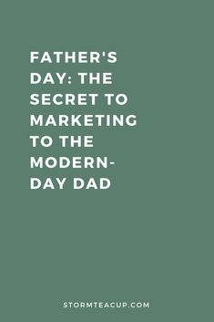 Marketing to the modern-day father is much now. We've put together this free handy worksheet to help you kickstart your next fathers day marketing campaign. Instagram Marketing Tips, Instagram Tips, Facebook Marketing, Teacup, Fathers Day, The Secret, Families, Dads, Social Media