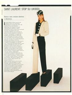 1980 - YSL suit by Barry Lategan 4 Vogue