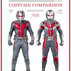 • ANT-MAN - COSTUME COMPARISON • I am starting to get concerned about the appearance of Ant-man and the Wasp in Infinity war, are they even in it ?  They must be! I really need to see the OG Avengers (Ant-man, Wasp, Ironman, Thor and the Hulk) fighting side by side in the 3rd Avengers movie. Come on Marvel!!! What costume do you prefer? 2015 or 2016 ??? let me know in the comments below ✌️ ———————————————————— #marvel #mcu #ironman #captainamerica #thor #hulk #blackwidow #antman #spiderman…