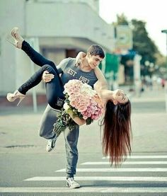 Pose idea. Happiness. (Love all the flowers. Replace them tho w/pic.frame and tilt head up a bit more.)