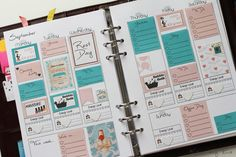 Kokiri auf Eis: Free Planner Inserts for your Filofax - Erin Condren Inspired Layout I Gratis Planner Inserts für den Filofax mit Erin Condren Layout