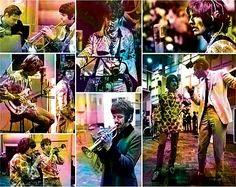 """about Sgt Pepper Lonely Heart's Club Band (song) """"It starts off with applause, or rather atmosphere, from a recording I made in Cambridge with the Beyond The Fringe crowd, Dudley Moore and company.""""  George Martin"""