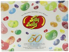 LOWEST EVER AMAZON PRICE Jelly Belly Gift Box 50 Assorted Flavours 600g NOW £14.26