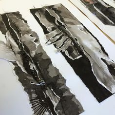 From Sarah Usher NSEAD online. Year 10 gorgeousness at The Conway Centre