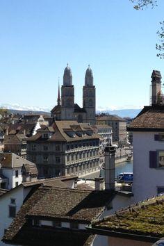 Aussicht vom Lindenhof - Zürich