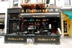 McAleer's Pub - 425 Amsterdam Ave (80th & 81st St) Nice place with Sidewalk Seating - good happy hour - real Irish bar with Irish Food