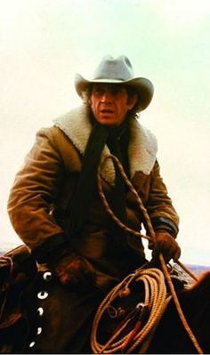 TOM HORN (1980) - Former Army scout (Steve McQueen) is hired by Wyoming cattle ranchers to kill rustlers in the area - Also stars:  Screenplay by Thomas McGuane & Bud Shrake - Directed by William Wiard - Warner Bros. - Publicity Still.