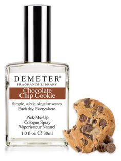 Demeter perfume--all kinds of random scents, like Cut Grass and Chocolate Chip Cookie!