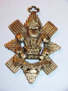 Jewelry  Badge of the Royal Welch Regiment by TheIDconnection, $48.00    Jewelry  Badge of the Royal Welch Regiment http://TheIDconnection.etsy.com Military insignia British Wales http://etsy.me/xPsBgI via @Etsy