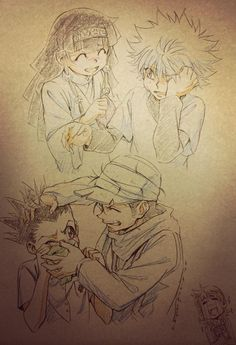 This one is so sad... Gon and Killua miss each other so much...
