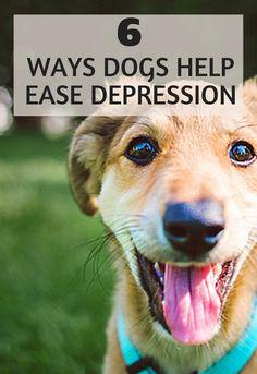 6 Ways Dogs Help Ease Depression Symptoms