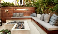 📌 backyard patio design as a living room or outdoor kitchen and garden ideas 12 « ANIPO Outdoor Design, Garden Seating, Terrace Design, Small Backyard, Modern Backyard, Backyard Landscaping Designs, Backyard Seating Area, Patio Seating, Patio Design