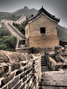Had the Wall to myself...amazing! Discovered by Maxine House at Mutianyu Great Wall, Beijing, China