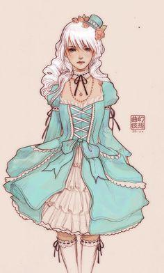 02 color by JDarnell.deviantart.com on @deviantART  #sweetlolita | #lolita