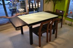 Our #number1 #bestselling #diningtable features extensions on each end, making it a great #spacesaver