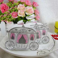 Boîte de bonbons de mariage, papier, voiture, fait à la main