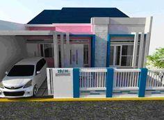 26+ Gambar & Desain Pagar Rumah Minimalis Warna Putih Elegan