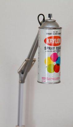 Spray Can Lamp