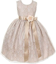 Little Girls Champagne Dress Lace Custom Ribbon Flowers G... https://www.amazon.com/dp/B01AQ78Q1Q/ref=cm_sw_r_pi_dp_EM2xxbEKYHQP0