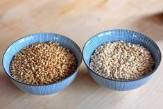 How To Cook Tender, Chewy Barley | Kitchnmethods for both hulled (whole grain) and pearled barley hull removed) How To Cook Barley, How To Cook Rice, Cooking Barley, Barley Nutrition, Cheese Nutrition, Nutrition Guide, Nutrition Education, Hulled Barley, How To Cook Brats