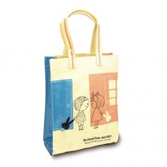 Shinzi Katoh Neighbors PVC Coated Tote Bag