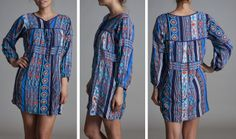 Mimi Chica dress boho tunic dress available at Nordstrom now!