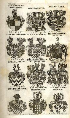 Spener, Philipp Jakob: Historia Insignium Illustrium Seu Operis Heraldici Pars Specialis. - Frankfurt <Main>, 1717. Jpg, Frankfurt, Maine, Guns, Coat Of Arms, History, Mannheim, Crests