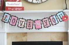Cute Valentine's Day Banner