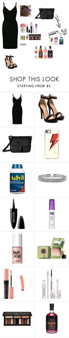 """""""After prom"""" by jimena-herranz-torres ❤ liked on Polyvore featuring Dsquared2, Foley + Corinna, Casetify, Bling Jewelry, Maybelline, Urban Decay, Benefit and Kat Von D"""