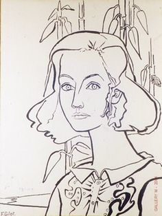 There's a common thread running through all the opinions on portraits that I've been gathering from designers, magazine editors, and stylem. Figure Drawing, Painting & Drawing, Illustrations, Illustration Art, Drawing Sketches, Art Drawings, Francoise Gilot, Pablo Picasso Drawings, The Draw