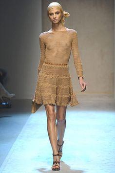 Salvatore Ferragamo Handmade Cotton Crochet Dress Profile Photo