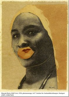 by Hannah Höch technique photomontage Dada Collage, Collage Artists, Mixed Media Collage, Jean Arp, Marcel Duchamp, Collages, Man Ray, Photomontage, Hannah Hoch Collage