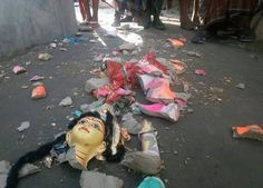 Mob Destroys Several Hindu Temples and Homes in Bangladesh Injuring Over 100   An unruly mob of hundreds of people armed with locally-made weapons demolished at least 10 temples to the ground along with vandalising hundreds of houses of the Hindu community at Brahminbarias Nasirnagar upazila on Sunday afternoon reportedly in response to a Facebook post making satire of the Masjid al-Haram the holy site of Muslims.  More than 100people were injured in the attacks while six people were…