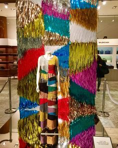 "SAKS FIFTH AVENUE, New York, ""Boldly... Be a pop of color"", for Missoni, photo by  Vanessa, pinned by Ton van der Veer"